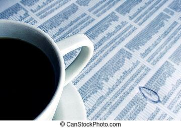 caffè, affari