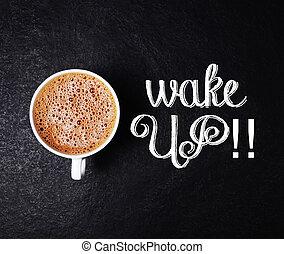 caffè, destarsi