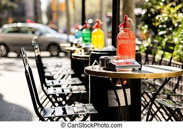 caffè esterno, barcellona