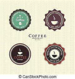 caffè, etichette