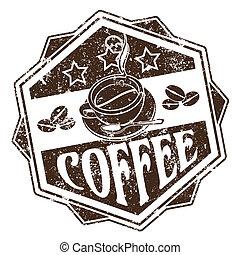 caffè, francobollo