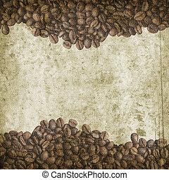 caffè, grunge, fondo