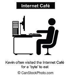 caffè, internet