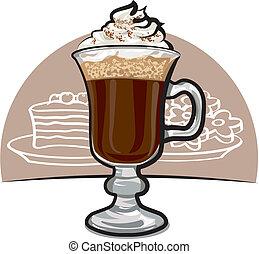 caffè, irlandese