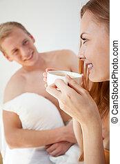 caffè, letto