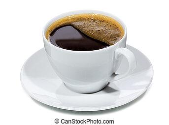 caffè nero, tazza