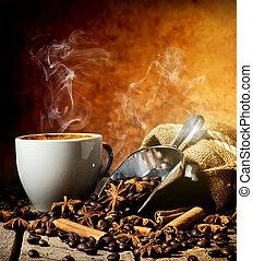 caffè, spezie