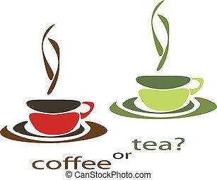 caffè tè, o