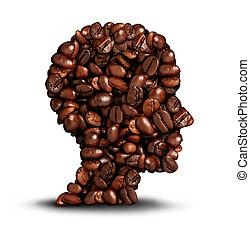 caffè, testa