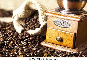 caffe, broyeur