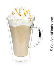 Caffe latte coffee