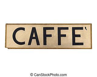 caffe, signe