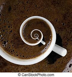 Caffeine Addiction Swirl