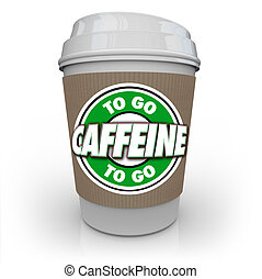 Caffeine Coffee Plastic Cup Drink Drive-Thru To-Go
