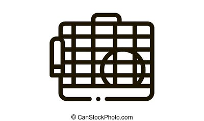 Cage for Hamster Icon Animation