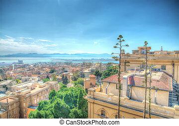 Cagliari in hdr