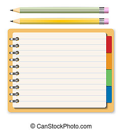 cahier, concept