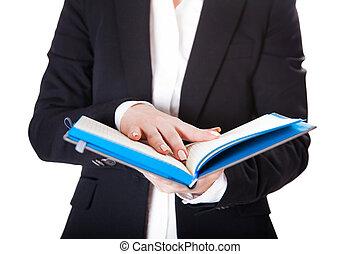 cahier, femmes affaires