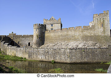Cahir Castle in Ireland