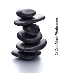 cailloux, concept., zen, balance., healthcare, spa