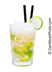Caipirinha cocktail drink