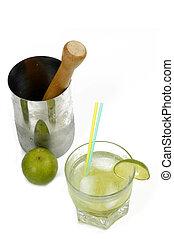 "Caipirinha - Famous Brazilian Drink, with \""white rum\""..."