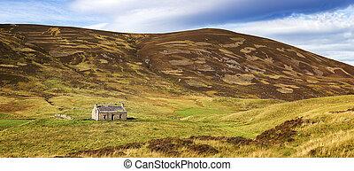 Cairngorms panorama - Panorama of the Cairngorms, Scottish...
