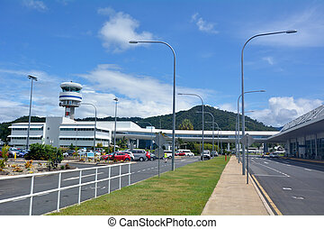 Cairns Airport in Queensland Australia