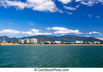 Cairns Waterfront Cityscape - The famous Cairns waterfront...