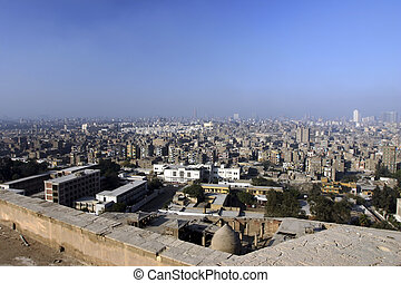 Cairo Egypt overview - An overview of Cairo from the Citadel