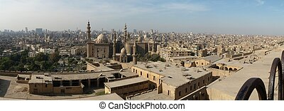 Cairo (Egypt) - Panoramic view of Cairo