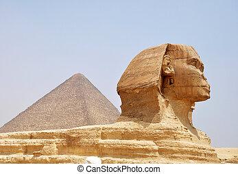 cairo, egypte, sphinx