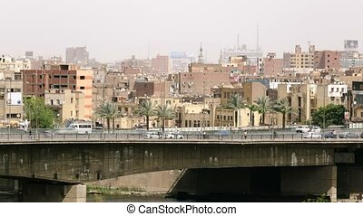 Cairo traffic time lapse