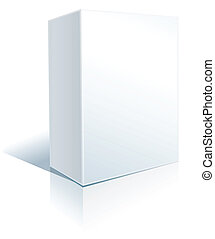 caixa, branca