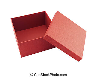 caixa, branco vermelho, fundo