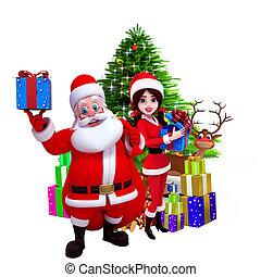 Resultado de imagem para imagem 3D canstock de desenho de natal