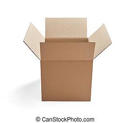 caixa, entrega, papelão, caixa papelão, pacote