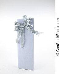 caixa, fundo branco, presente