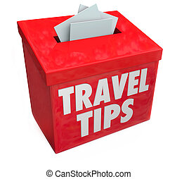 caixa, informação, realimentação, viagem, revisões, sugestão, sugestões, conselho