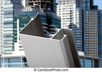 caixa, janela, banheiro, alumínio, porta, perfil