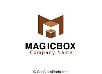 caixa, magia, desenho