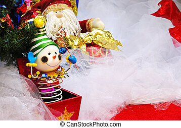 caixa, Natal, Renda, macaco