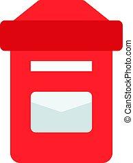 caixa, poste