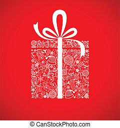caixa, presente natal