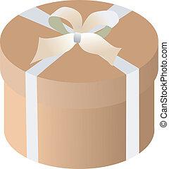 caixa, presente