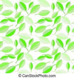 caixa, tecido, leaf., geometria, primavera, abstratos, ...