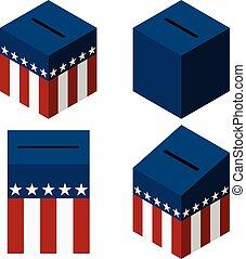 caixa, voto, nós