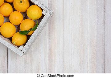 cajón, limones