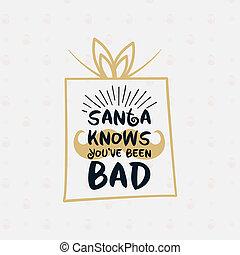 caja, acción, -, santa, navidad, navidades alegra, t, ...