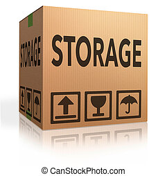 caja, almacenamiento